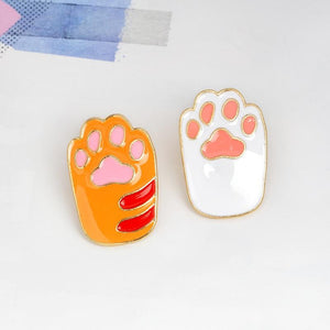 Kitten Paws Pins - 2 pack