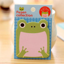 Load image into Gallery viewer, Kawaii Animal Sticky Notes - 4 pack