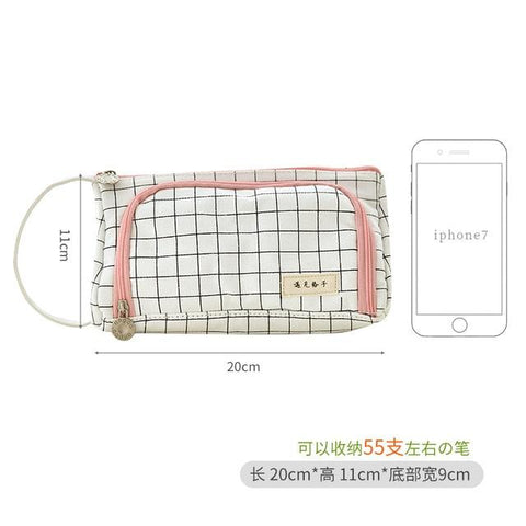 Image of Large Canvas Pencil Case