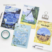 Load image into Gallery viewer, Van Gogh Sticky Notes - 4 pack