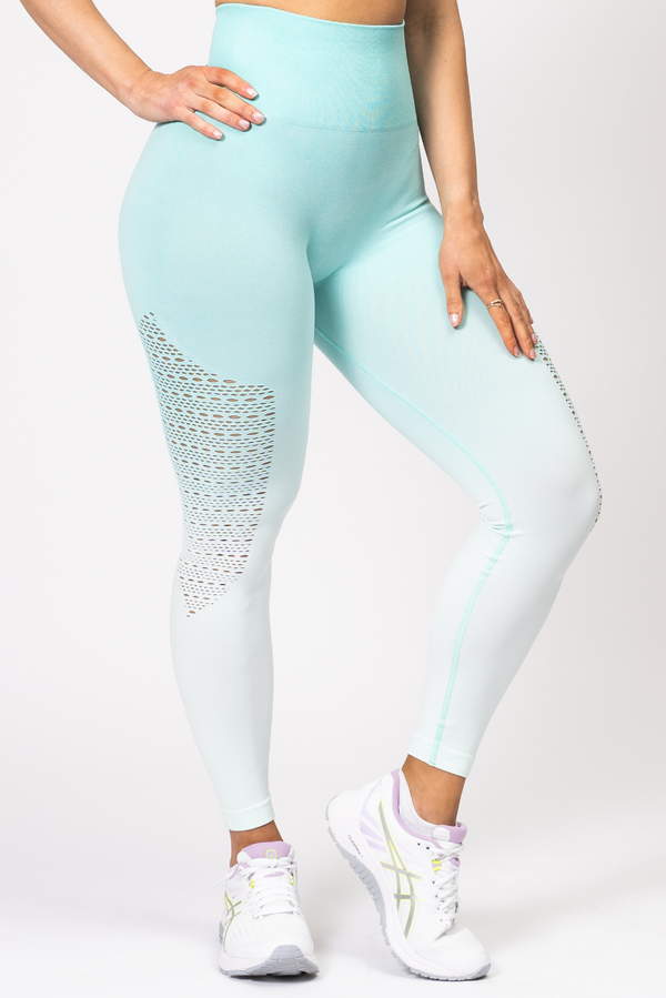 Ella Ombre Scrunch Bum Leggings Mint