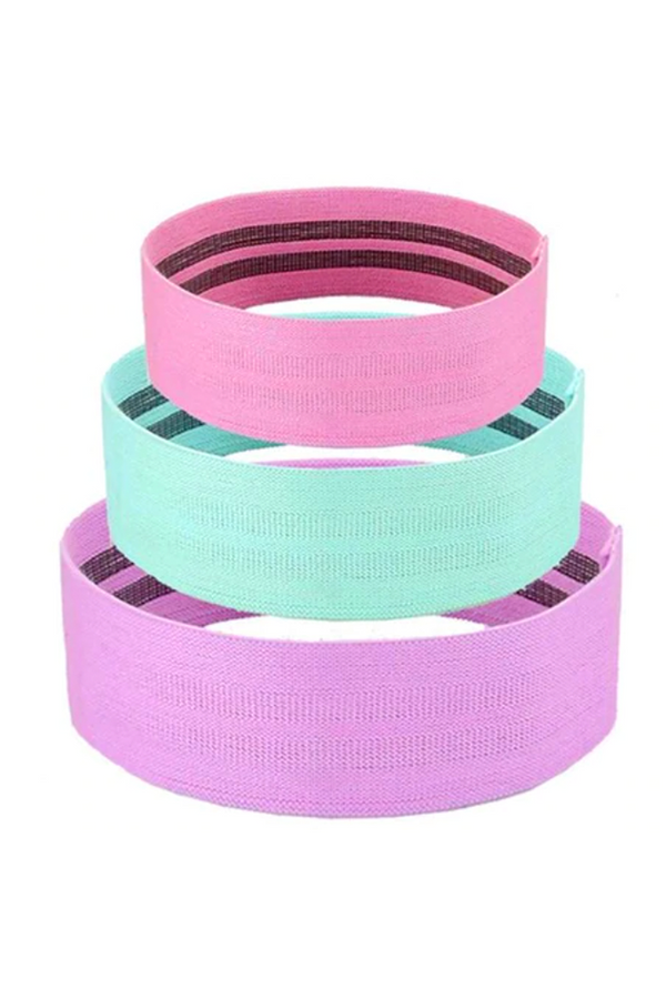 Fabric Booty Band Set