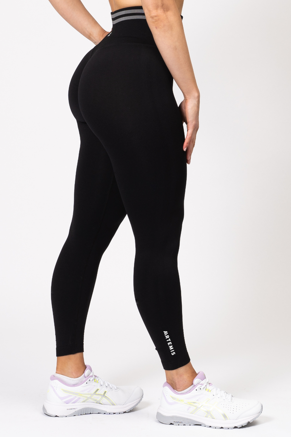 Serena Scrunch Bum Leggings Black