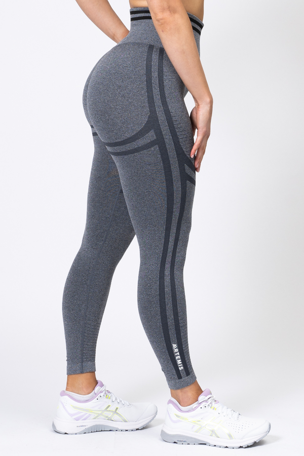 Serena Scrunch Bum Leggings Charcoal