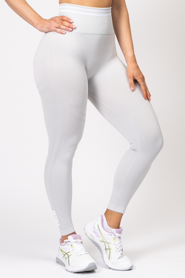 Serena Scrunch Bum Leggings Light Grey