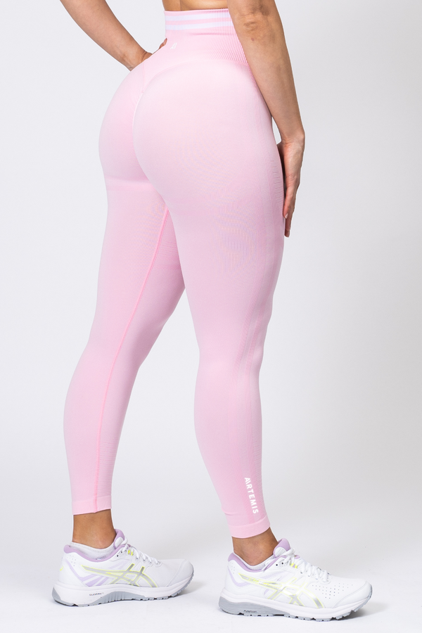 Serena Scrunch Bum Leggings Pink