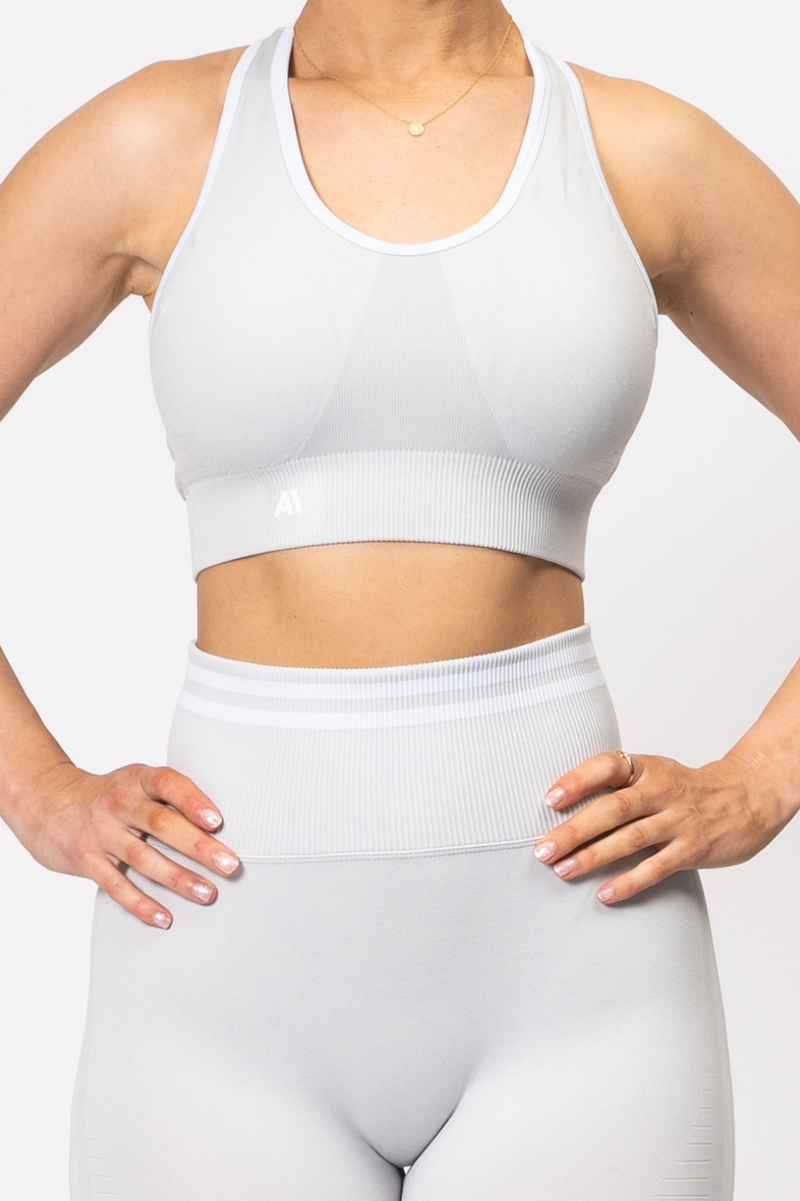 Serena Seamless Sports Bra Grey