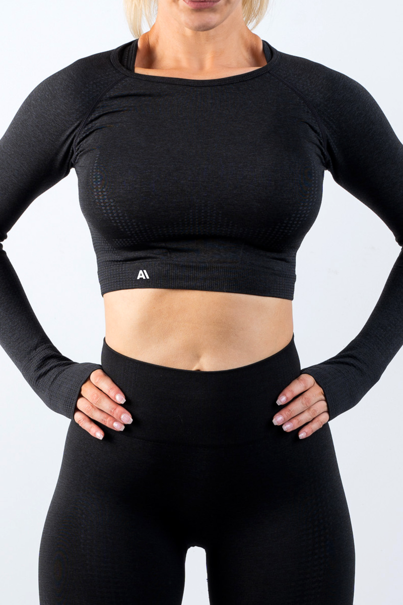 Taylor Crop Top Black