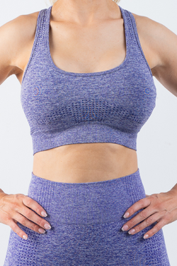 Taylor Sports Bra Purple - No Logo