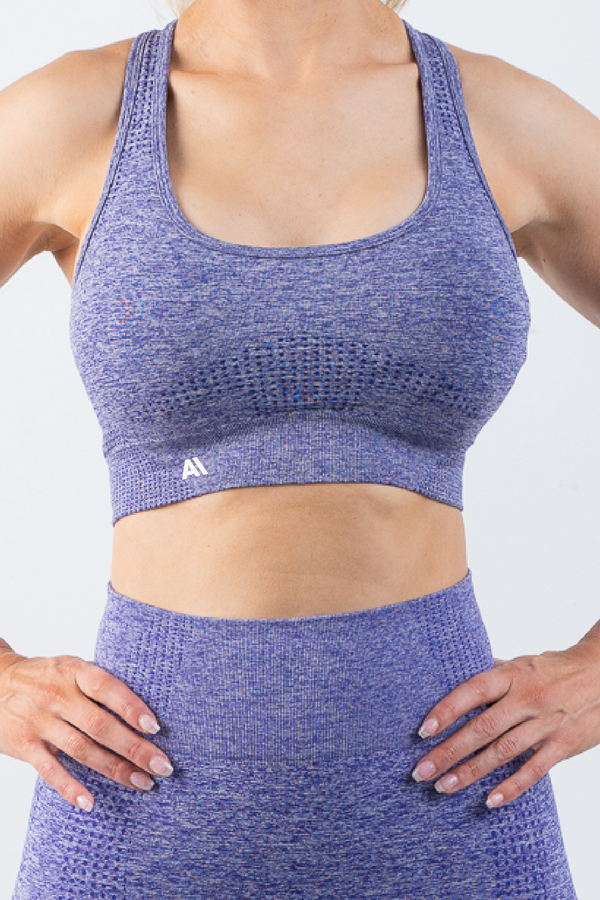 Taylor Sports Bra Purple