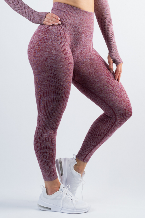Taylor Leggings Wine Red