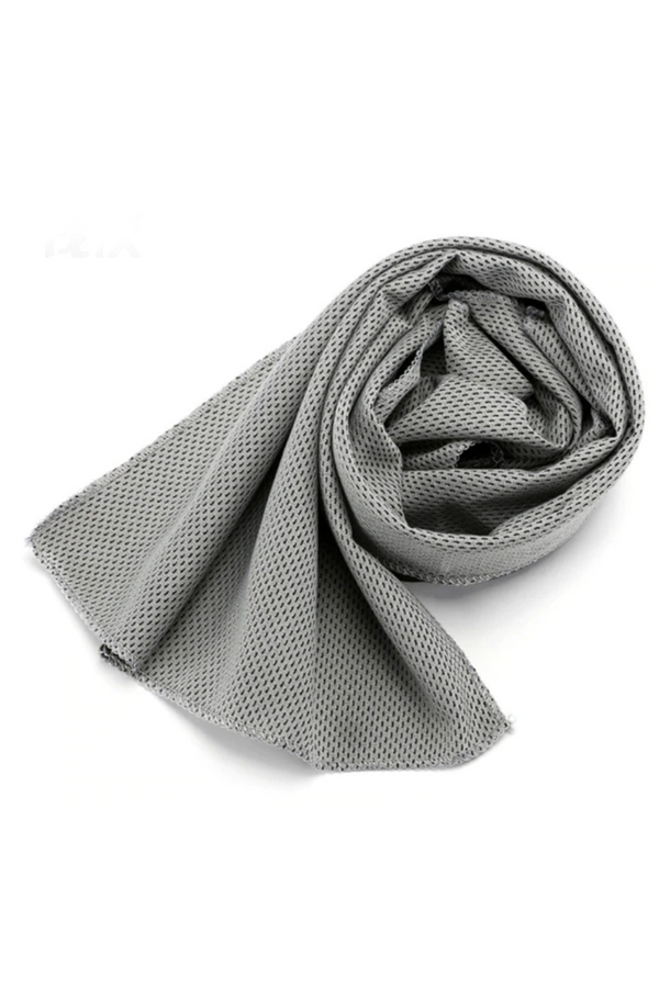 Quick Dry Gym Towel Grey