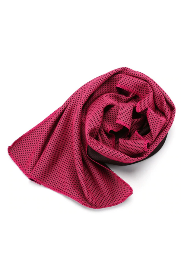 Quick Dry Gym Towel Pink