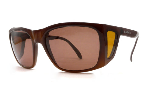 Bollé 711 Sunglasses w/Sideshield - Brown Fade