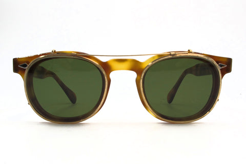 Customized vintage sunglass clip for Ginsberg 050 (allyn scura)
