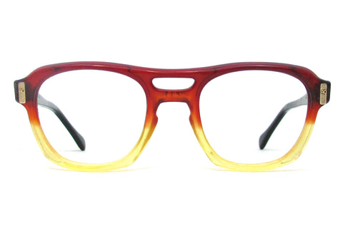 American Optical Safety Frame (Double Bridge) - Red Fade