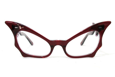 Courtland Eyewear - Tiburon Nero Red