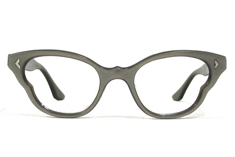 Frame France Butterfly Cateye Frames - grey