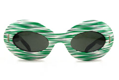 Victory Suntimer Oval - Green Stripes