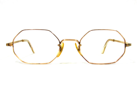 American Optical Octagonal 12k gold-filled