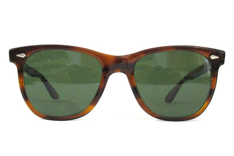 American Optical Saratoga Sunglasses - Demi-Amber