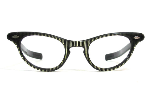 Artcraft Gay Lady Keyhole cateye - black