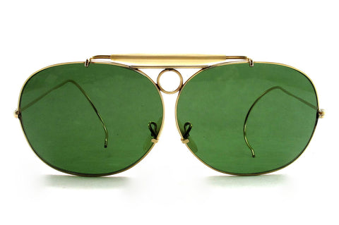 Ray Ban Decot Shooter Aviator Sunglasses (by Bausch & Lomb)