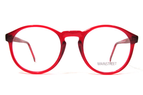 Mainstreet No.150 - Red Translucent
