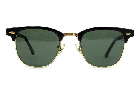 RAY BAN CLUBMASTER (BY BAUSCH & LOMB) - black