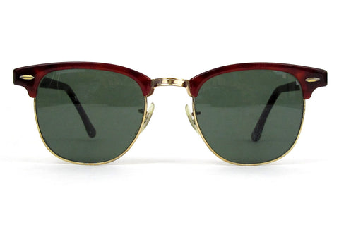 RAY BAN Clubmaster (BY BAUSCH & LOMB) - Oxblood