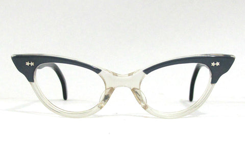Tart Sheree (vintage) - Blue/Crystal Cateyes (children)