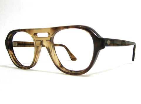 allynscura | Titmus Safety frame - brown tortoise