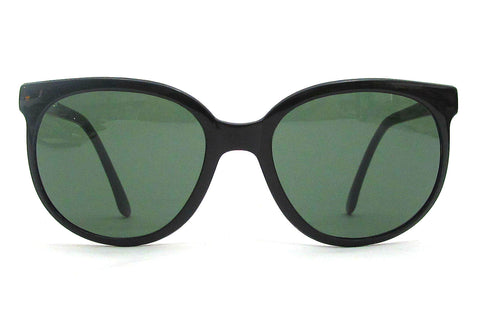 Vuarnet 002 Cat Sunglasses - Black