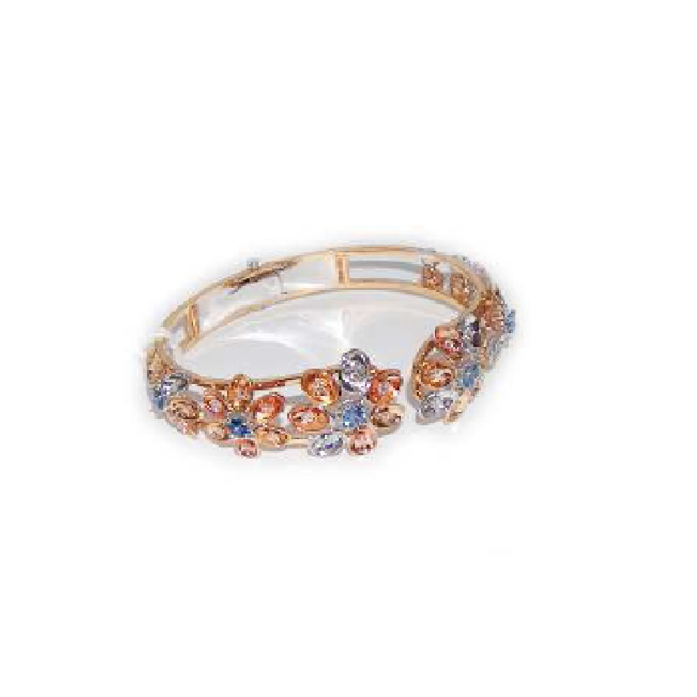 Paolo Piovan Bracelet in Rose Gold with Diamonds and Sapphires - Made in Paradise Luxury