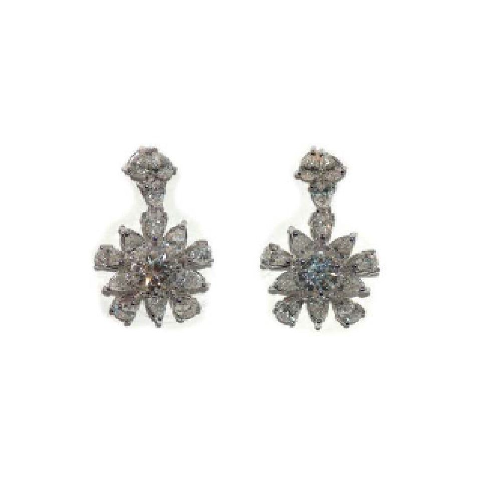Paolo Piovan Earrings in White Gold with Diamonds IGI Report - Made in Paradise Luxury