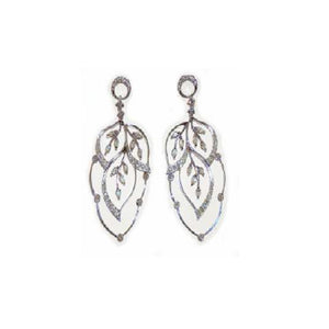 Paolo Piovan Earrings in White Gold with Diamonds - Made in Paradise Luxury