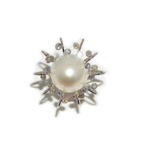 Paolo Piovan Ring in White Gold with Diamonds and Pearls - Made in Paradise Luxury