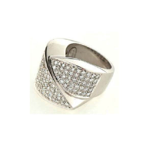 Paolo Piovan Ring in White Gold with Diamonds - Made in Paradise Luxury