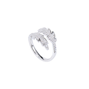 Jewel Trend Silver with Cubic Zirconia Fashion Amora Ring - Made in Paradise Luxury