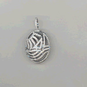 Piero Milano 18K White Gold Diamonds Pendant - Made in Paradise Luxury