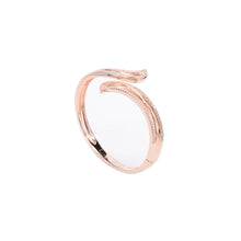 Load image into Gallery viewer, Jewel Trend Rose Gold Plated with Cubic Zirconia Fashion Eden Bangle - Made in Paradise Luxury