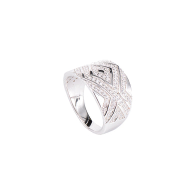 Jewel Trend Silver with Cubic Zirconia Fashion Sophia Ring - Made in Paradise Luxury