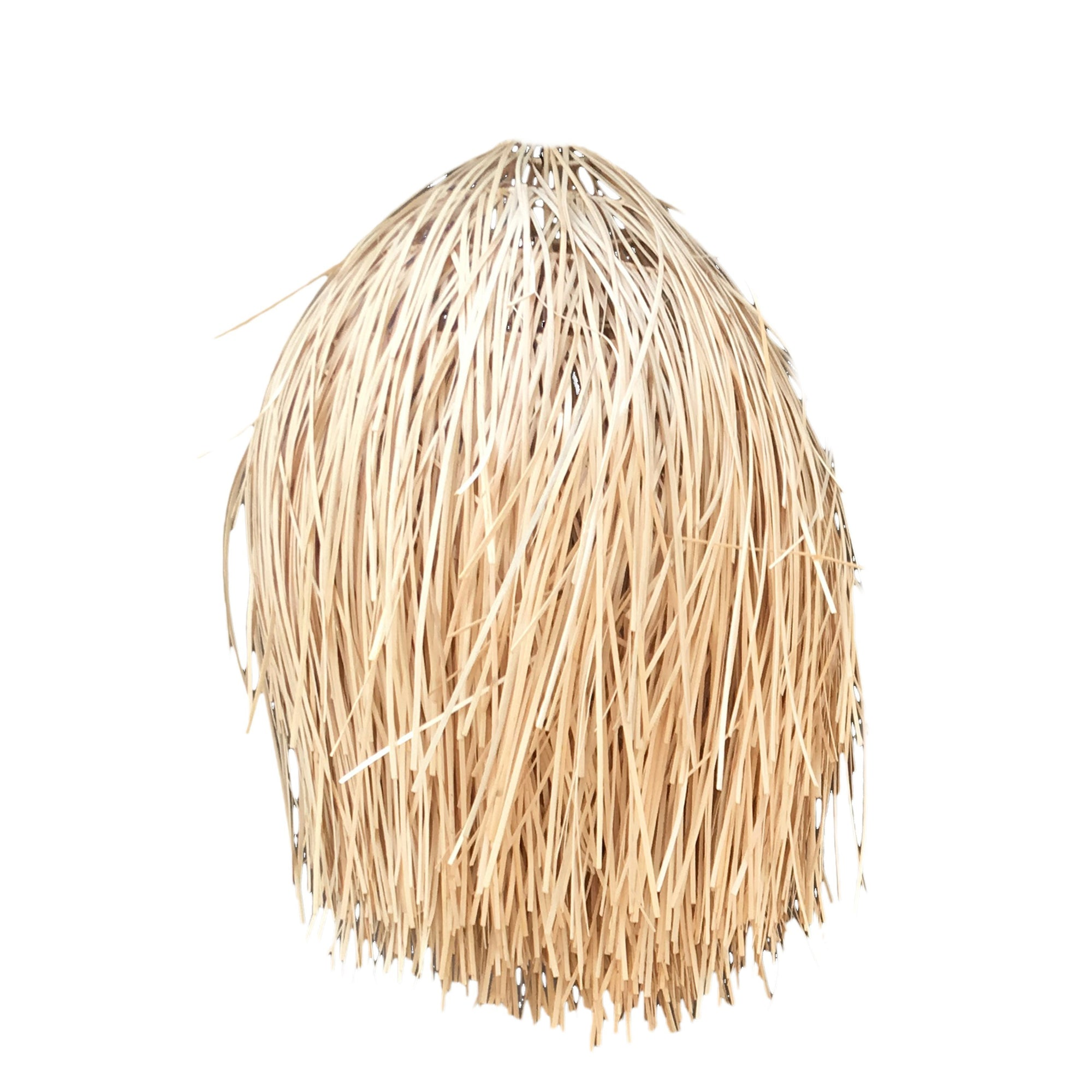 The Rattan Shaggy Pendant Natural - L