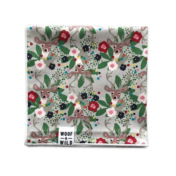 Blitzen Holiday Dog Bandana l Woof & Wild | Woof & Wild | | Arrow Women's Boutique