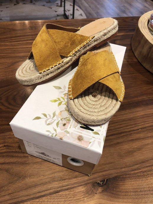 Ella Mustard Espadrilles | Not specified | | Arrow Women's Boutique