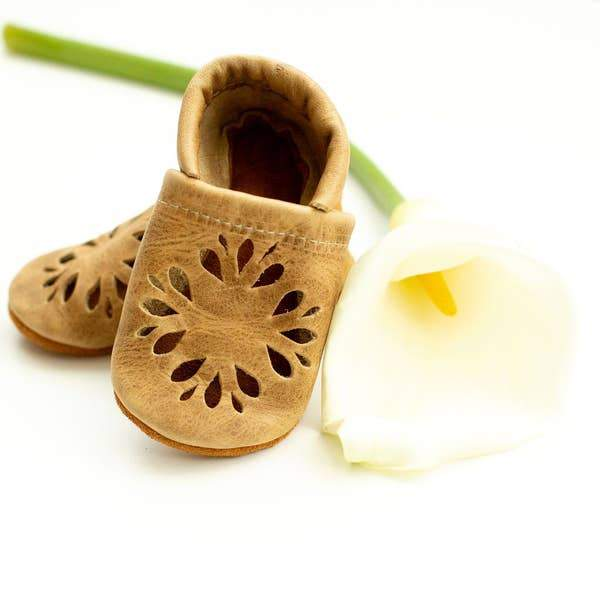 Fawn Dahlia Toddler Shoes l Starry Knight Design | Starry Knight Design | | Arrow Women's Boutique
