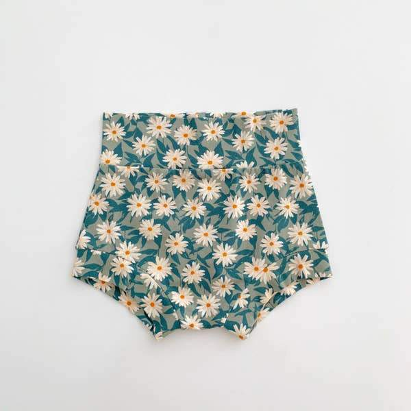 High Waisted Shorties: Lazy Daisy l Bohemian Babies | Bohemian Babies | | Arrow Women's Boutique