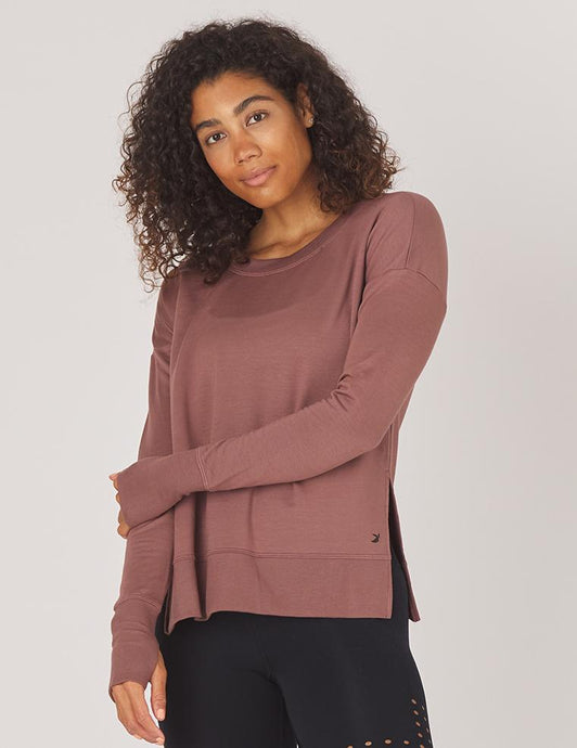 Lounge Long Sleeve Cocoa l Glyder | Glyder | | Arrow Women's Boutique