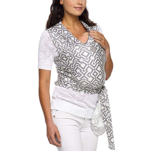 Moby Wrap Evolution - Mazes of Milano Stone | Moby | Moby | | Arrow Women's Boutique