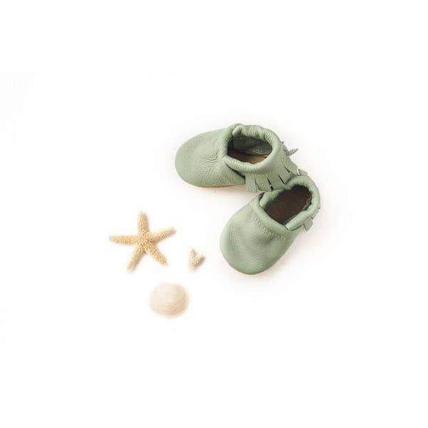 Moccs Shoe- Mint l Starry Knight Design | Starry Knight Design | | Arrow Women's Boutique